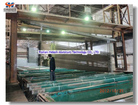 Aluminum Profile Anodizing And Electrophoresis Production Line