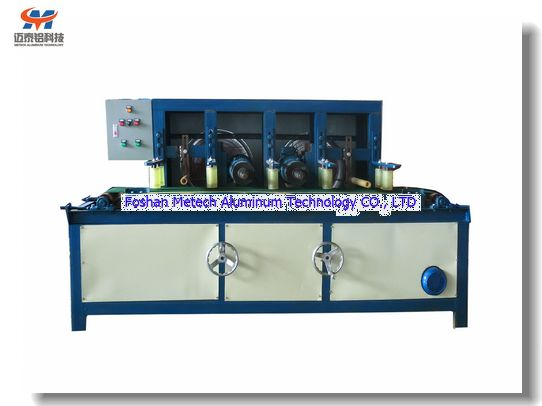 Aluminium Profile Lines Brushing Machine