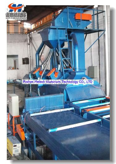 Automatic Aluminum Profile Shot Blasting Machine