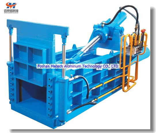 Horizontal Type Aluminum Scrap Baler