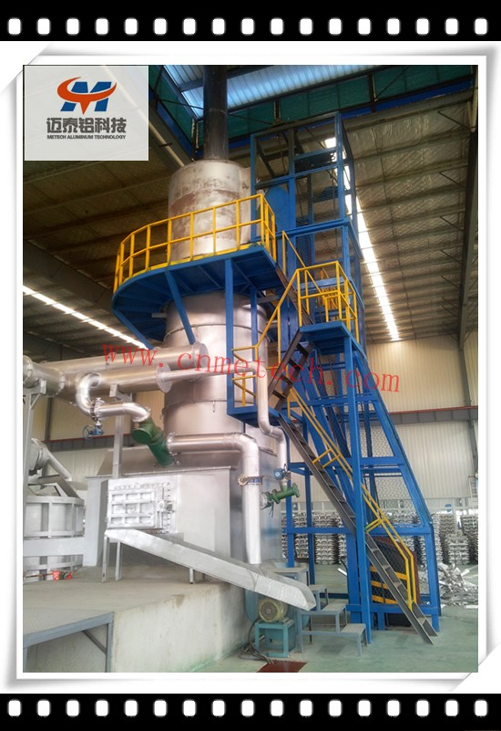 Vertical melting furnace/Cupola furnace