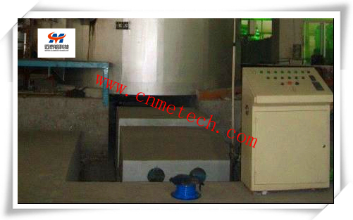 Permanent Magnet Stirrer of the Aluminum Rod Production Line