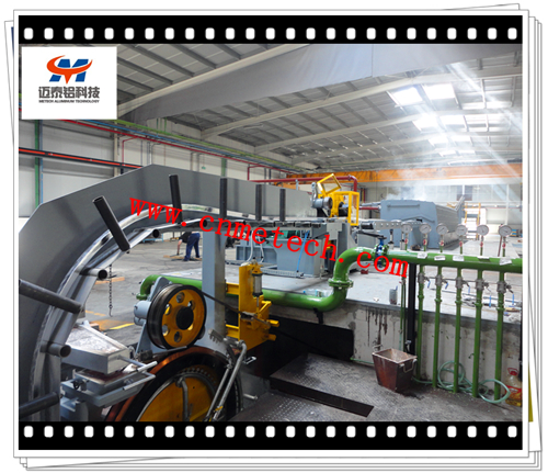 Aluminum Alloy Rod Continuous Casting And Rolling Line Machine