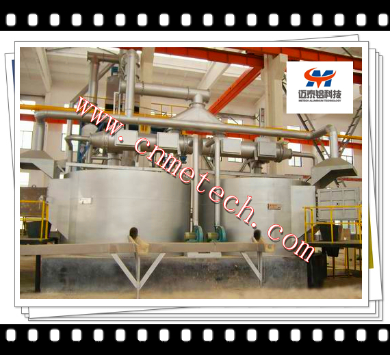 Round Aluminum Holding Furnaces(TILTING OR STATIONARY)