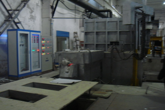 Alumininum slabs Casting Machine