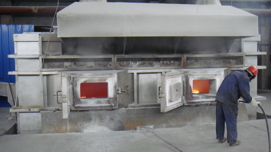 Electric Resistance Holding Furnace
