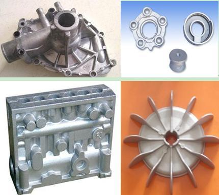 Finished Products: Aluminum Die Castings