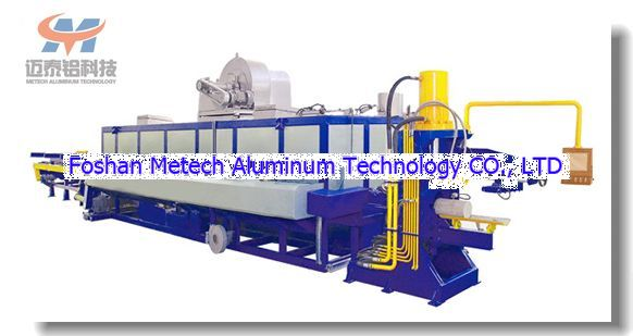 Multi-log Aluminum Billet Hot Shear Furnace